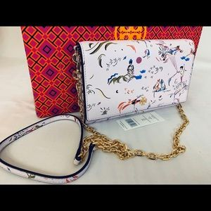 Tory Burch NWT Daydreamer RARE Purple Wallet
